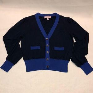 Juicy Couture Blue and Navy Cardigan